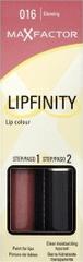 Max Factor Long-lasting lipstick with Lipfinity balsam, nijansa 016 – Glowing, 2.3 ml + 1.9 ml