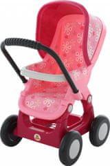 Polesie kolica za lutke, 4 kotača, roza