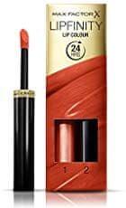Max Factor Long-lasting lipstick with Lipfinity balsam, nijansa 140 – Charming, 2.3 ml + 1.9 ml