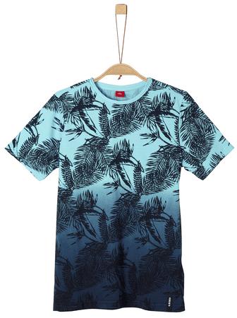 s.Oliver chlapčenské tričko S modrá