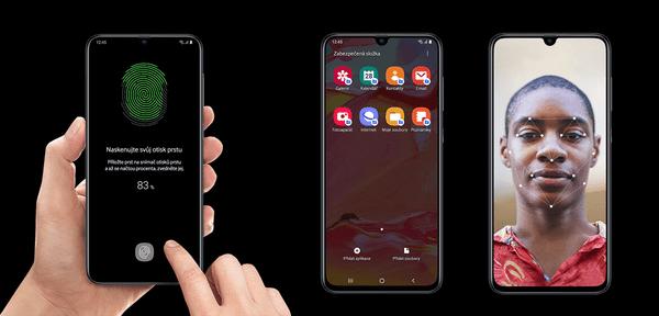 Samsung Galaxy A40, velký výkon, velká paměť RAM, velké úložiště