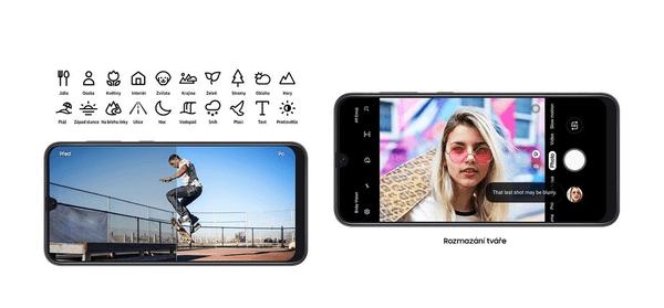 Samsung Galaxy A70, umělá inteligence, chytrý fotoaparát