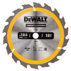 DeWalt list kružne pile za drvo 18 zuba, 184x16mm DT1938