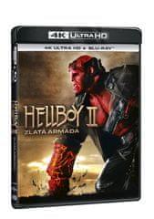 Hellboy 2: Zlatá armáda (2 disky) - Blu-ray + 4K Ultra HD