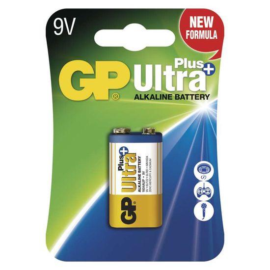 GP 9V Ultra Plus, alkalická - 1 ks