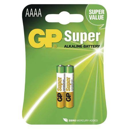 GP baterija GP25A AAAA/LR8D425, alkalna 2kom