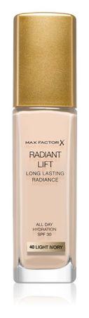 Max Factor tekoči puder Radiant Lift, 040 Light Ivory