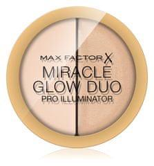 Max Factor kremni osvetljevalec Miracle Glow Duo, 010 Light