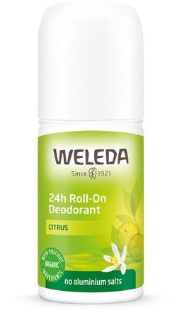 Weleda deodorant Roll-On 24h, limona, 50ml