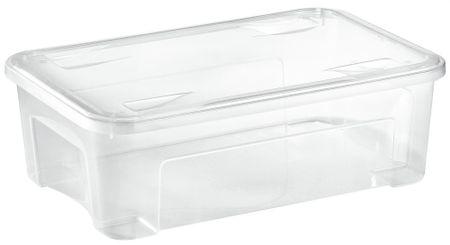 Tontarelli COMBI BOX 29,5L s vekom, transparent