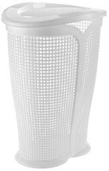 Tontarelli kosz na pranie INGRID 50 l, biały