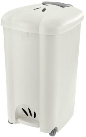 Tontarelli Odpadkový koš 30L Carolina krémová