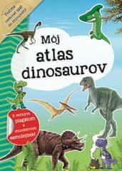 autor neuvedený: Môj atlas dinosaurov + plagát a samolepky (SK vydanie)