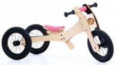 TryBike rower / trójkołowiec drewniany 4w1