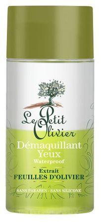 Le Petit Olivier Make-up eltávolító szem smink kivonattal olajfalevél, olívaolaj 125 ml