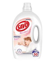 Savo Prací gél pre citlivú pokožku 50 praní