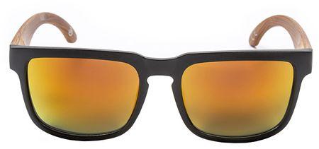 MEATFLY Okulary przeciwsłoneczne Memphis 2 D- Black, Wood