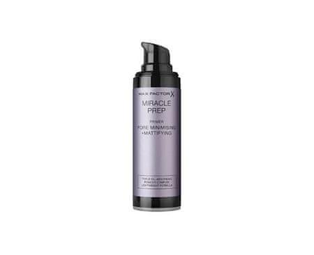Max Factor matirana podlaga za gladko kožo in zmanjševanje por Miracle Prep, 30 ml - Odprta embalaža