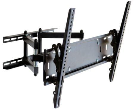 """Omega stenski nosilec z roko za TV OUTV600FM, Full Motion, 76,2 cm (30"""") - 165,1 cm (65""""), Vesa do 600x400"""
