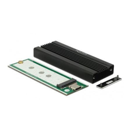 Delock ohišje za SSD disk USB-C M.2 NVMe PCIe