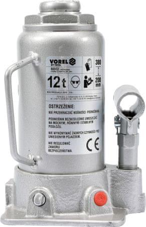 Vorel Hever hydraulický pístový 12 t (TO-80062)