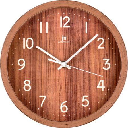 Lowell zegar 00827F biały/brązowy