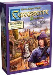 Mindok Carcassonne 6 namizna igra Kralj, grof in reka