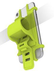 CELLY uniwersalny uchwyt EASY BIKE na telefony i nawigacje do montażu na kierownicy, zielony, EASYBIKEGN