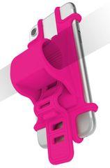 CELLY uniwersalny uchwyt EASY BIKE na telefony i nawigacje do montażu na kierownicy, różowy, EASYBIKEPK
