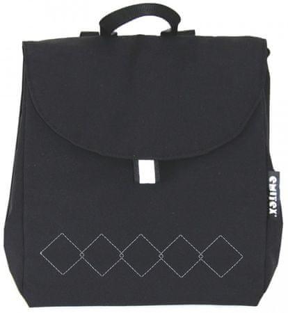 Emitex plecak CUBE czarny