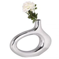 Bruxxi Hliníková váza Omega, 33 cm