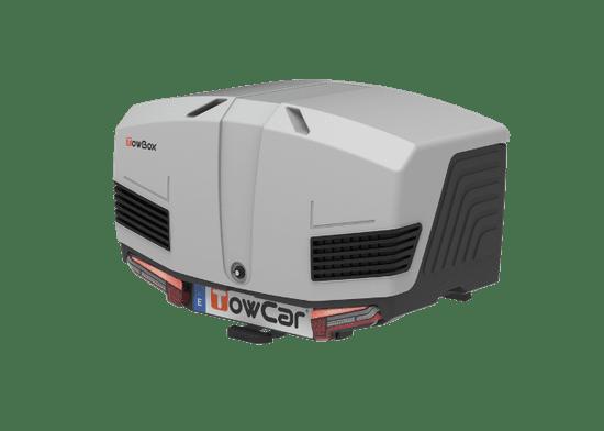TowBox V3 box na ťažné zariadenie, svetlo sivá