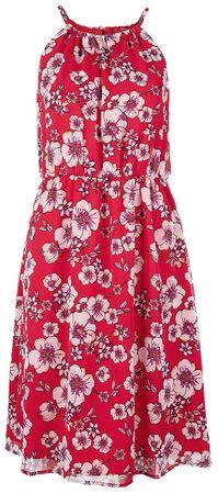 s.Oliver damska sukienka 36 czerwona