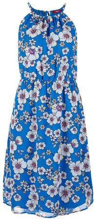 s.Oliver sukienka damska 36 niebieski