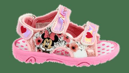 Disney by Arnetta sandały dziewczęce Minnie 27 różowy