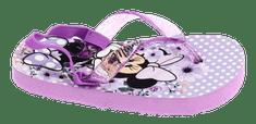 Disney by Arnetta dievčenské žabky Minnie