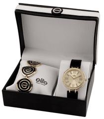 Elite Models dámska sada hodiniek a náhrdelníka E55072-101