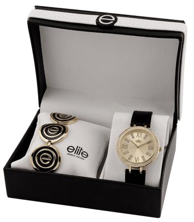 Elite Models óra és nyaklánc női szett E55072-101