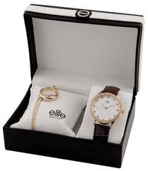 Elite Models zestaw podarunkowy damski - zegarek i naszyjnik E55072-105