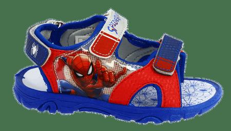 Disney by Arnetta Spiderman fiú szandál 24 piros/kék