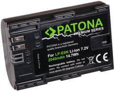 PATONA Baterie pro foto Canon LP-E6N 2 040 mAh Li-Ion Premium PT1259