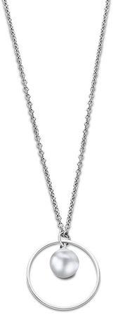 Lotus Style Originalna jeklena ogrlica LS2029-1 / 1