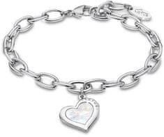 Lotus Style Bicie serca bransoletka z perłami LS2024-2 / 1