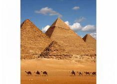 Dimex Fototapeta MS-3-0051 Egyptské pyramídy 225 x 250 cm