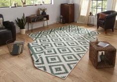 Bougari Kusový koberec Twin-Wendeteppiche 103131 grün creme
