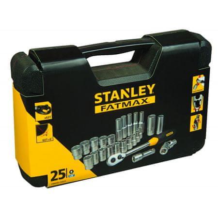 Stanley 25-delna garnitura natičnih ključev z ragljo FMHT0-73023