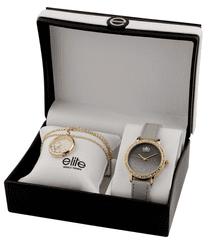 Elite Models dámska sada hodiniek a náhrdelníka E55182-102
