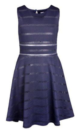 Happy Girls dámske šaty 128 tmavomodrá
