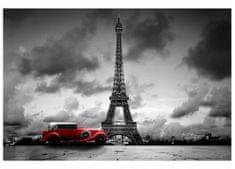 Dimex Fototapeta MS-5-0027 Retro auto v Paríži 375 x 250 cm