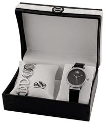 Elite Models dámska sada hodiniek a náramku E55182-203